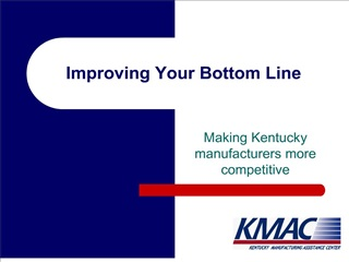 Improving Your Bottom Line
