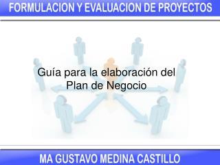 Guía para la elaboración del Plan de Negocio