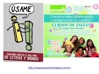 http://megustaespanhol.blogspot.com.br/