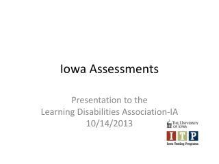 Iowa Assessments