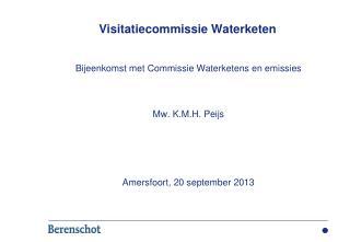 Visitatiecommissie Waterketen