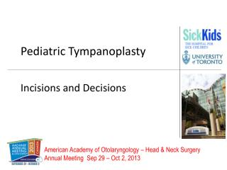 Pediatric Tympanoplasty