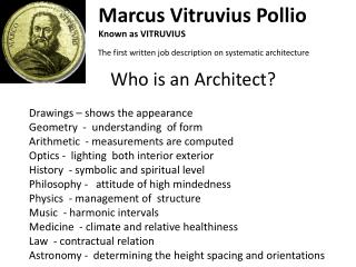 Who is an Architect?
