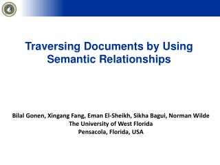 Traversing  Documents by Using Semantic Relationships