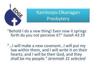 Kamloops-Okanagan  Presbytery