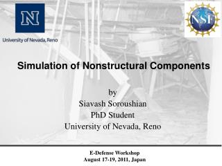 Simulation of Nonstructural Components