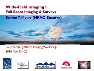 Wide-Field Imaging I:  Full-Beam Imaging & Surveys