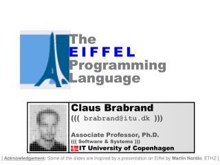 The E I F F E L Programming Language