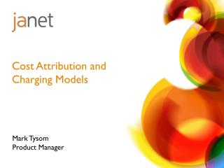 Cost Attribution and Charging Models