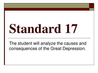 Standard 17