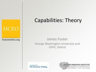 Capabilities: Theory