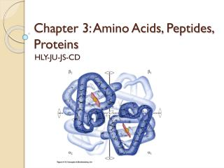 Chapter 3: Amino Acids, Peptides, Proteins