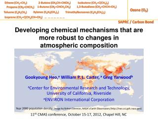 Developing chemical mechanisms that are more robust to changes in  atmospheric  composition