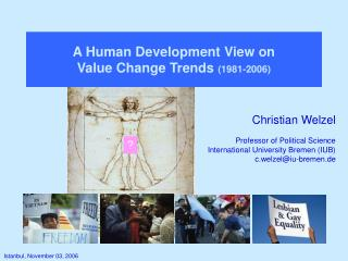 A Human Development View on  Value Change Trends  (1981-2006)