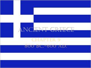 A ncient greece