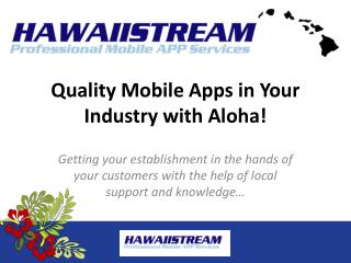 Mobile Business App