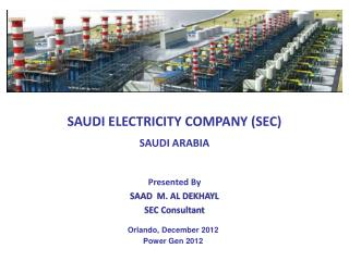 SAUDI ELECTRICITY COMPANY (SEC)  SAUDI ARABIA