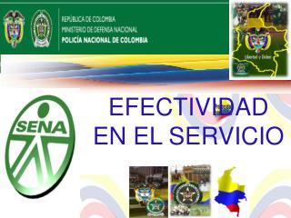 EFECTIVIDAD  EN EL SERVICIO