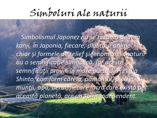 Simboluri ale naturii