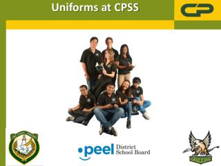 Uniforms at CPSS
