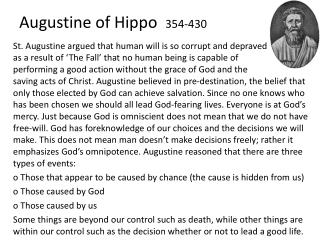 Augustine of  Hippo   354-430