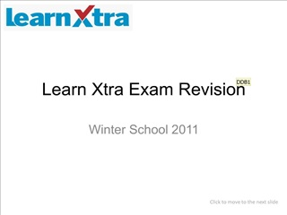 Learn Xtra Exam Revision