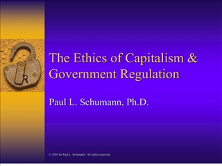 The Ethics of Capitalism  Government Regulation