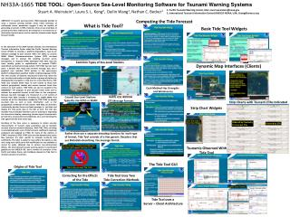 TIDE TOOL:  Open-Source Sea-Level Monitoring Software for Tsunami Warning Systems