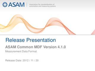 Release Presentation