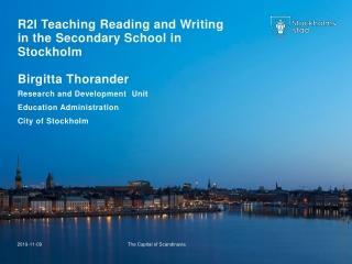 Teaching Reading