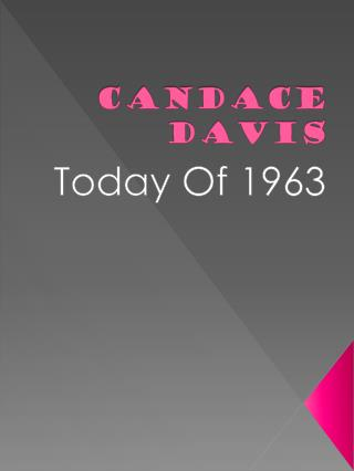 Candace Davis