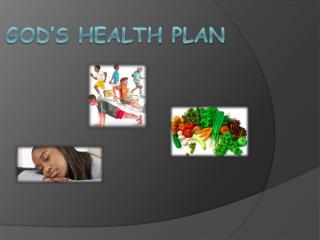 God�s Health Plan