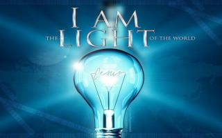 """I am the bread of life"" – John 6:35 ""I am the light of the world"" – John 8:12"