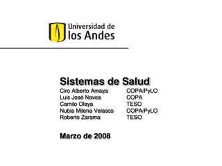 Marzo de 2008
