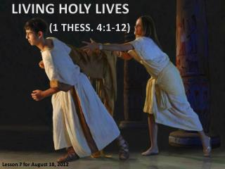 LIVING  HOLY LIVES