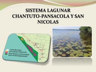 SISTEMA LAGUNAR  CHANTUTO-PANSACOLA Y SAN NICOLAS