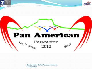 Brazilian Nationals � April 2012 PAN � American � October 2012