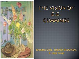 The Vision of E.E. Cummings