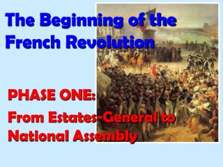 The Beginning of the  French Revolution
