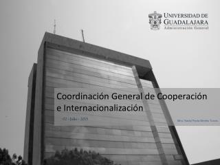 Coordinación General de Cooperación e Internacionalización
