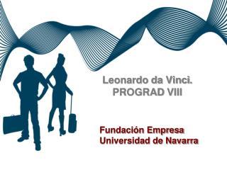 Leonardo da Vinci .  PROGRAD  VIII