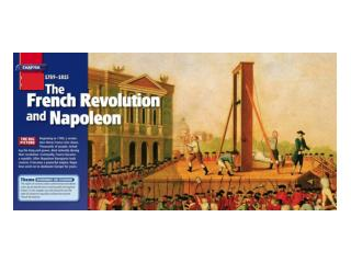 Objectives: Students will explore the causes of  the French  Revolution.