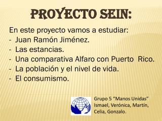 Proyecto Sein: