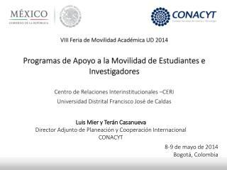 VIII Feria de Movilidad Acad�mica UD  2014