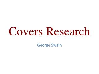 Covers Research