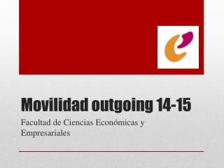 Movilidad  outgoing  14-15