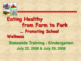 Powerpoint Presentation - Kindergarten Curriculum Training