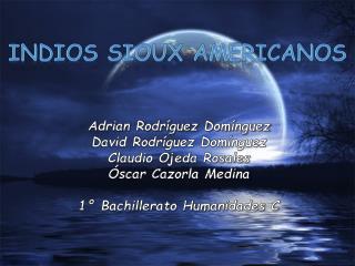 Indios Sioux Americanos