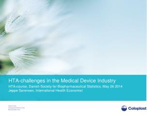 HTA-challenges in the Medical Device Industry