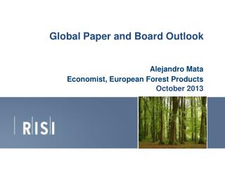 Global  Paper and Board Outlook